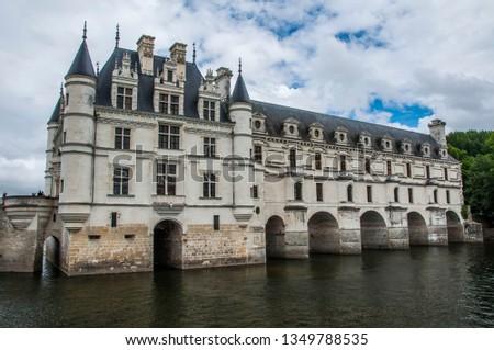 france chenonceaux chateau #1349788535