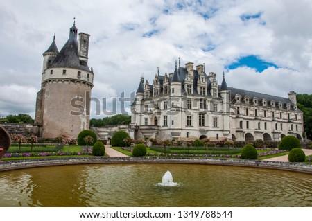 france chenonceaux chateau #1349788544