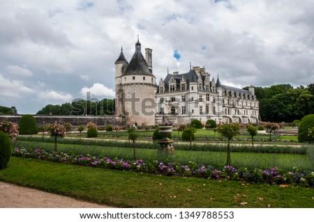 france chenonceaux chateau #1349788553