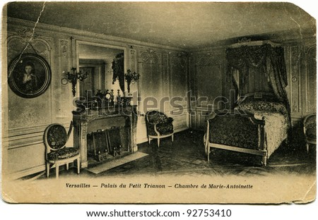 Постер, плакат: Reproduction of antique postcard, холст на подрамнике