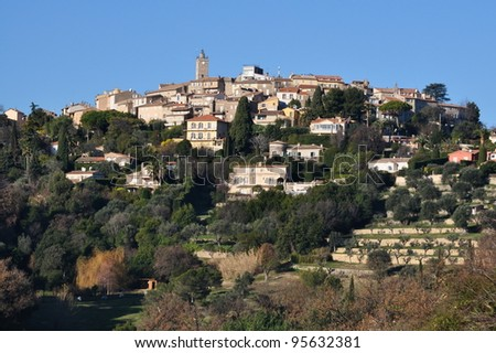 France, French riviera, Mougins, old village where Pablo Picasso lived 12 years.