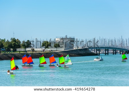 royalty free stock photos and images france la rochelle september 21 sailing training of. Black Bedroom Furniture Sets. Home Design Ideas
