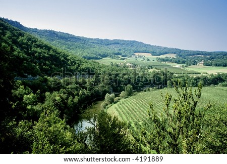 france midi pyrenees aveyron gorges and valley of the river aveyron region