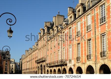 France, Place des Vosges in Paris