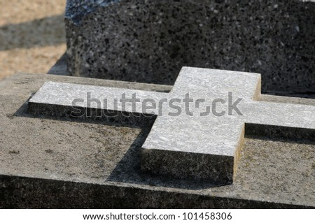 France, the cemetery of Condecourt  in Val d�¢??Oise
