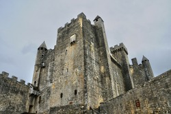 France, the middle age castle of Beynac in Dordogne