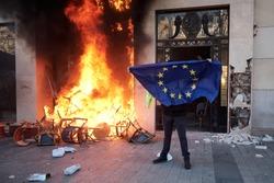 France yellow vest protests against macron politics