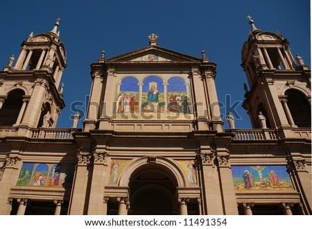 Franciscan church in Porto Alegre