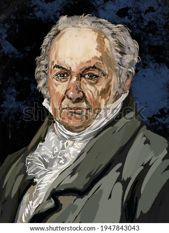 Francisco José de Goya y Lucientes   is regarded as the most important Spanish artist of the late eighteenth and early nineteenth centuries. Сток-фото ©