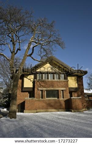 Frank Lloyd's house in Oak Park