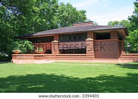 Frank Lloyd Wright Designed House, Oak Park