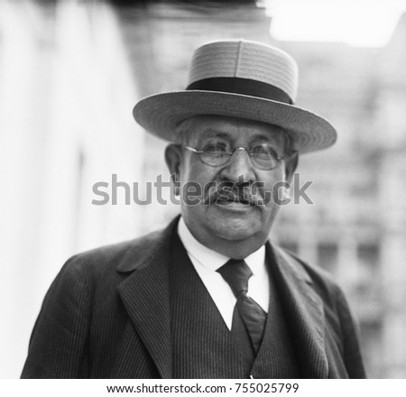 Frank W. Stearns, was an early supporter of young politician, Calvin Coolidge. They were both alumni of Amherst College. Stearns' father founded the R. H. Stearns department store, and Frank joined th Photo stock ©