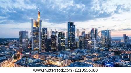 Frankfurt am Main Cityscape Germany