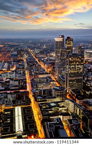 Frankfurt at Night