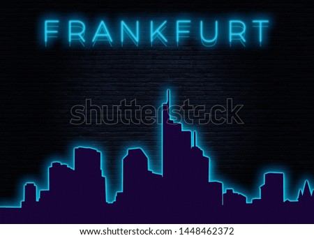 Frankfurt is a metropolis and the largest city of the German federal state of Hesse #1448462372