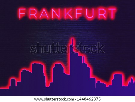 Frankfurt is a metropolis and the largest city of the German federal state of Hesse #1448462375