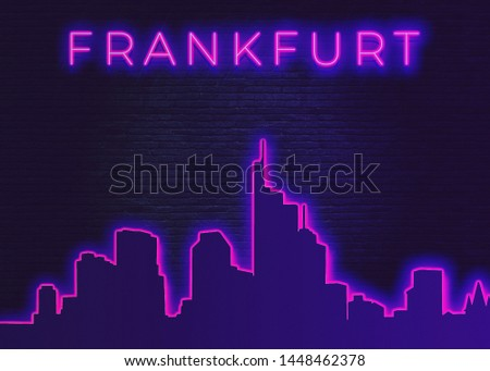 Frankfurt is a metropolis and the largest city of the German federal state of Hesse #1448462378