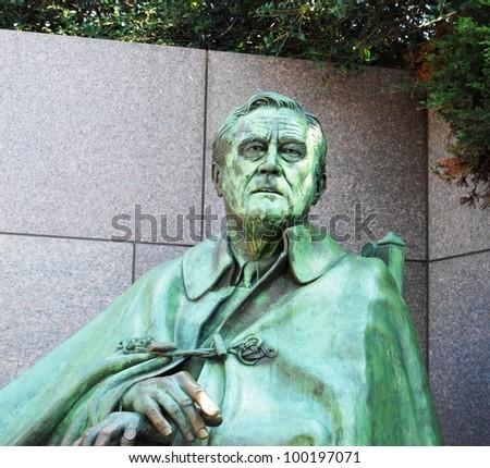 Franklin Roosevelt Memorial in Washington DC ,USA