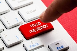FRAUD PREVENTION word concept button on keyboard