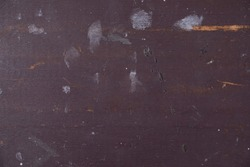Frayed darkbrown wooden sheet, interior texture