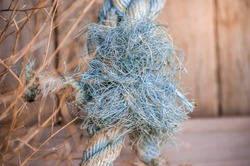 Frayed Thick, Nautical Rope Details