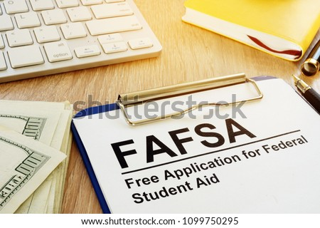 Free Application for Federal Student Aid (FAFSA) concept.