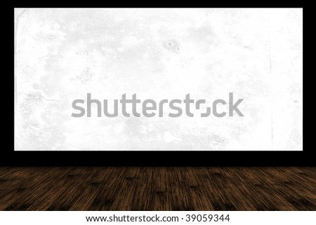Free cinema stage for your text or picture