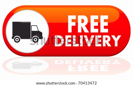 Free Home Delivery Icon Free delivery icon