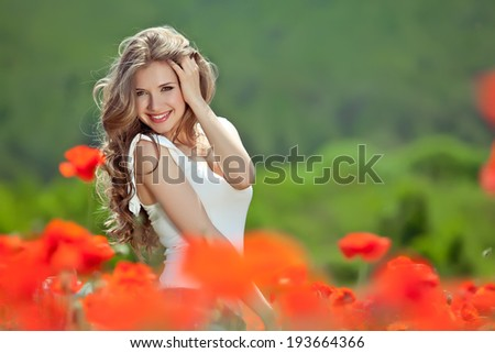 Free Happy Woman Enjoying Nature Beauty Girl Outdoor Freedom concept Beauty Girl over Sky and Sun Sunbeams Enjoyment