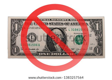 Free of charge anti dollar 3d sign Stock photo ©