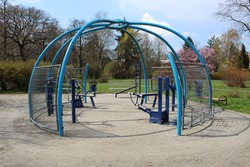 free open gym in park