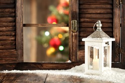 free place for you white lamp and xmas time