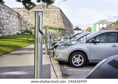 Free Recharging Station Stock photo ©