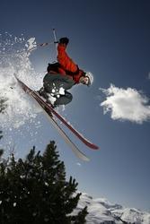 Free-ride Skier