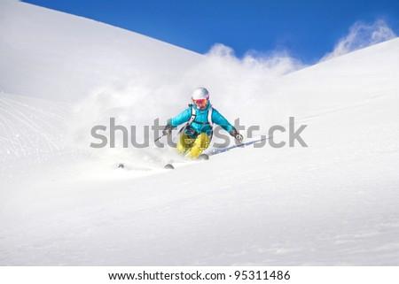 Free ride Skiing
