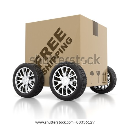Free shipping concept