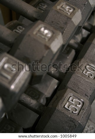 Free Weight Dumbell Rack