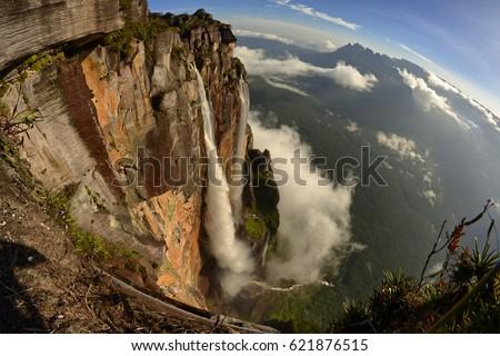 Freedom after Salto Angel falls. Canaima National Park, Venezuela  Foto stock ©