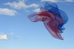 freedom and the colors blue and red in the human psyche and psychology