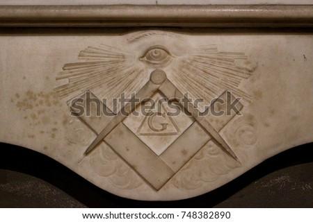 Freemason symbol Stock photo ©