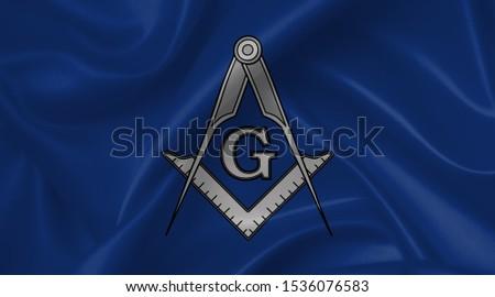 freemasonry flag country symbol illustration