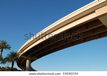 Freeway overpass; Las Vegas, Nevada
