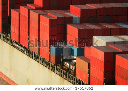 Freight Ship Containers