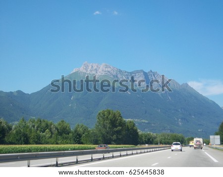 French Alps #625645838