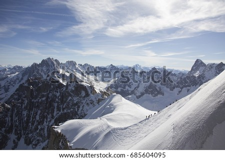French Alps  #685604095