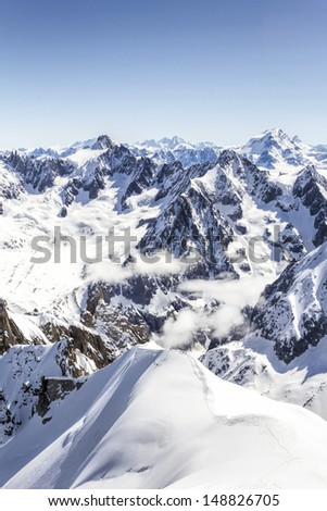 French Alps landscape  #148826705