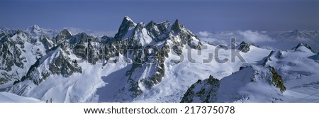 French Alps, near Chamonix, France #217375078