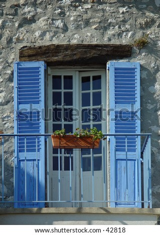 French balcony stock photo 42818 shutterstock for What is a french balcony