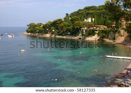 French beach #58127335