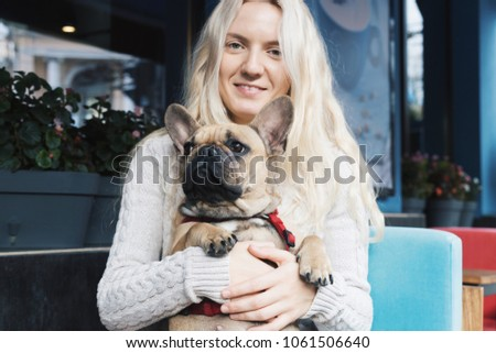 c81d6935933d Woman with a dog, man's best friend Images and Stock Photos - Page ...